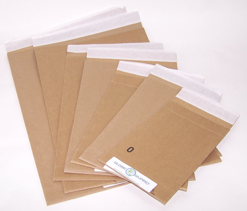 100 percent recycled content mailer envelopes